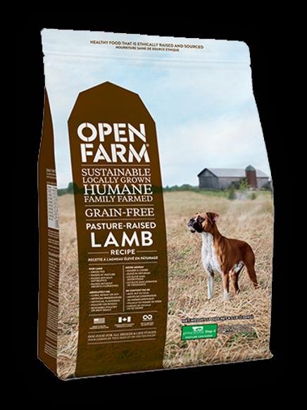 OPEN FARM GRAIN-FREE PASTURE RAISED LAMB RECIPE DRY DOG FOOD