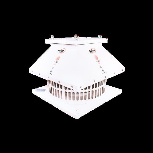 Point Dıştan Motorlu Çatı Tipi Yatay Atışlı Radyal Fan