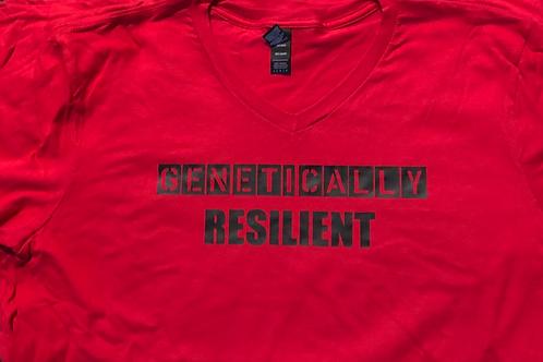 Genetically Resilient V- Neck T-Shirt
