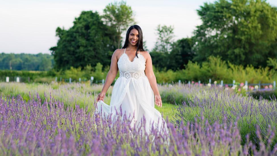 Lavender portraits