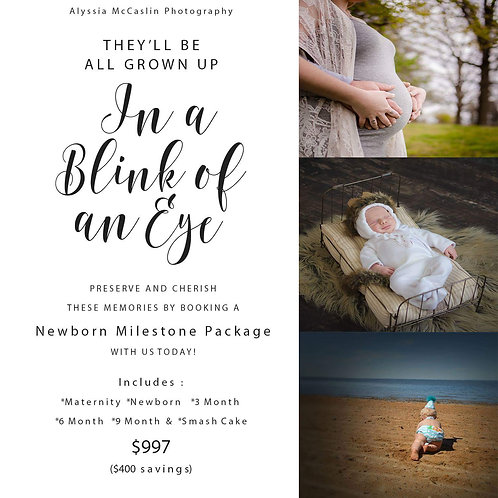 Newborn Milestone Package