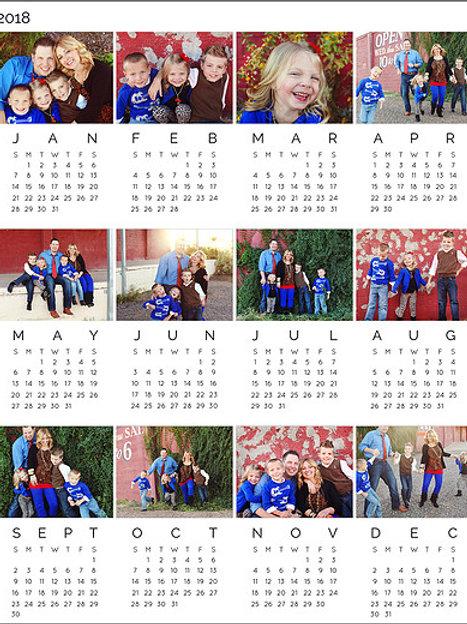 Parallel Photo Calendar