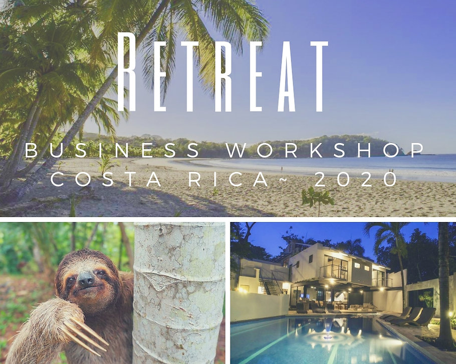 Retreat costa rica business workshop hosted by Alyssia McCaslin photography