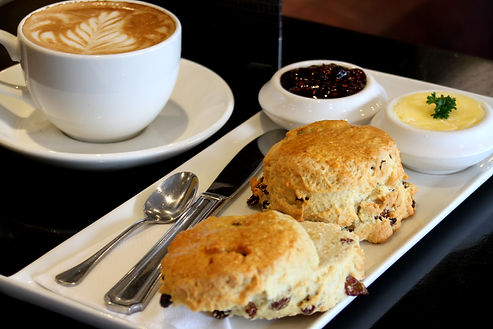 Coffee & Scone Deal at Duncan's Bar & Bistro, Irvine