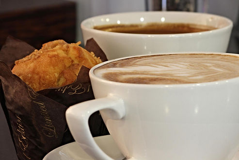 Coffee served all day at Duncan's Bar & Bistro, Irvine