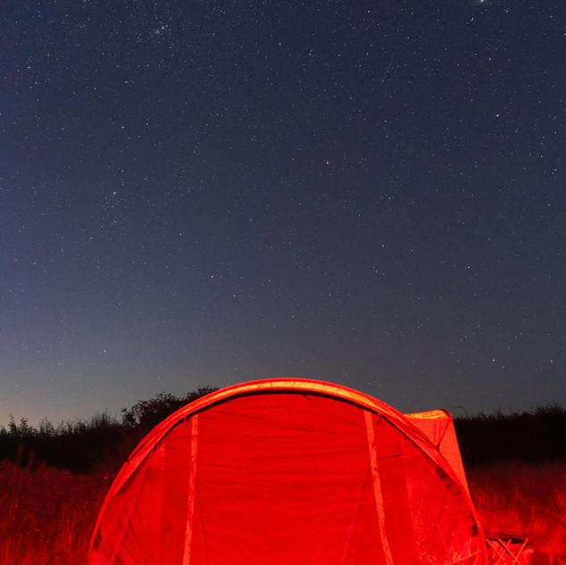 Milky Way Above Tent
