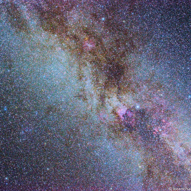 Northern Cygnus Milky Way
