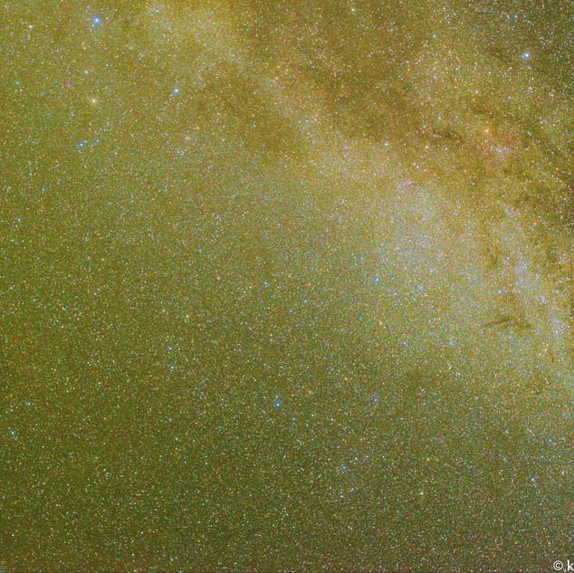 Cygnus to Cepheus and Andromeda Processe