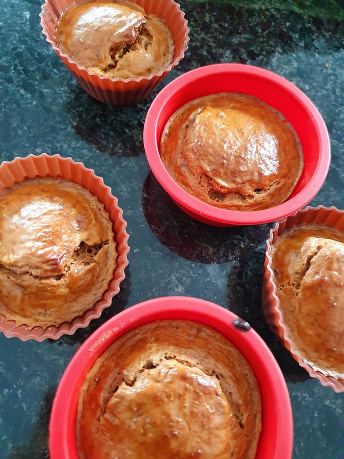 Protein-Brötli in Muffin-Style