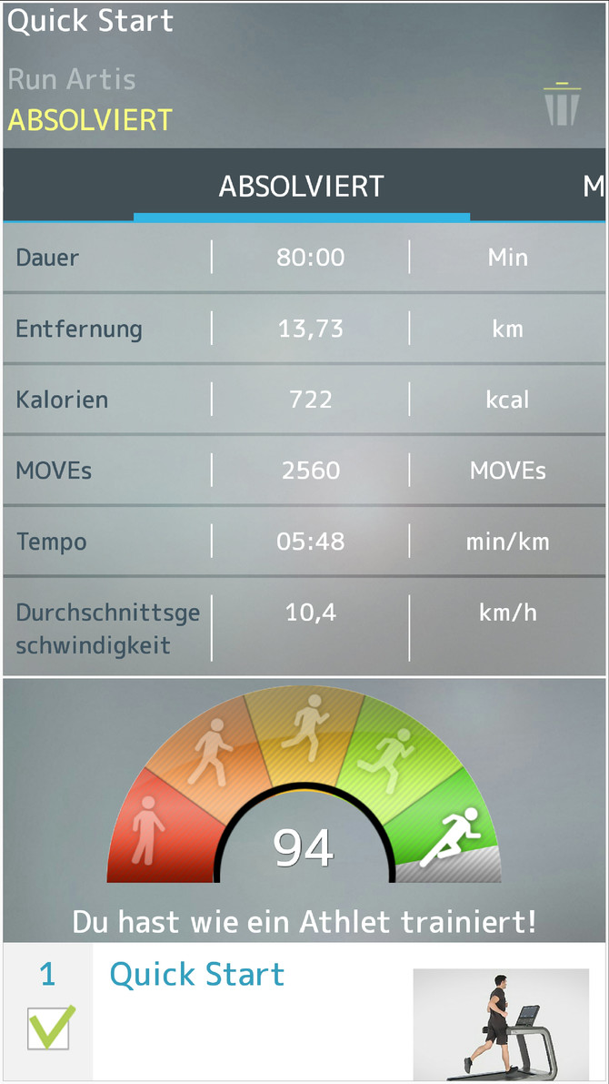 Halbmarathon-Training