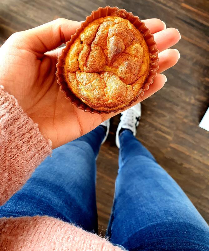 Gesundes Zitronen-Muffin