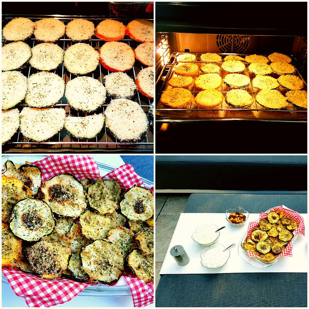 Ernährungsberatung, Ernährungstherapie und Fitnessberatung in Lyss, Fabienne Kobi, Zucchini-Chips