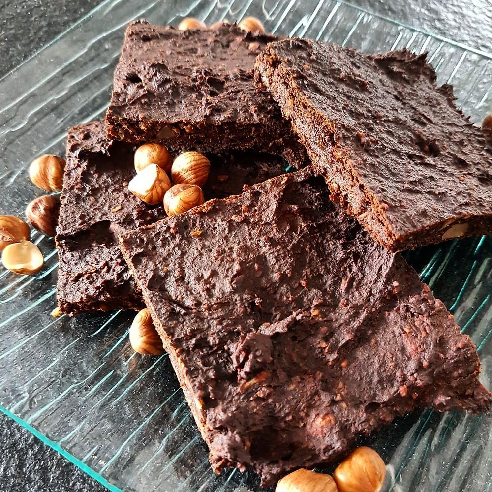 Ernährungsberatung, Ernährungstherapie und Fitnessberatung in Lyss, Fabienne Kobi, Kürbis-Brownies, Brownies