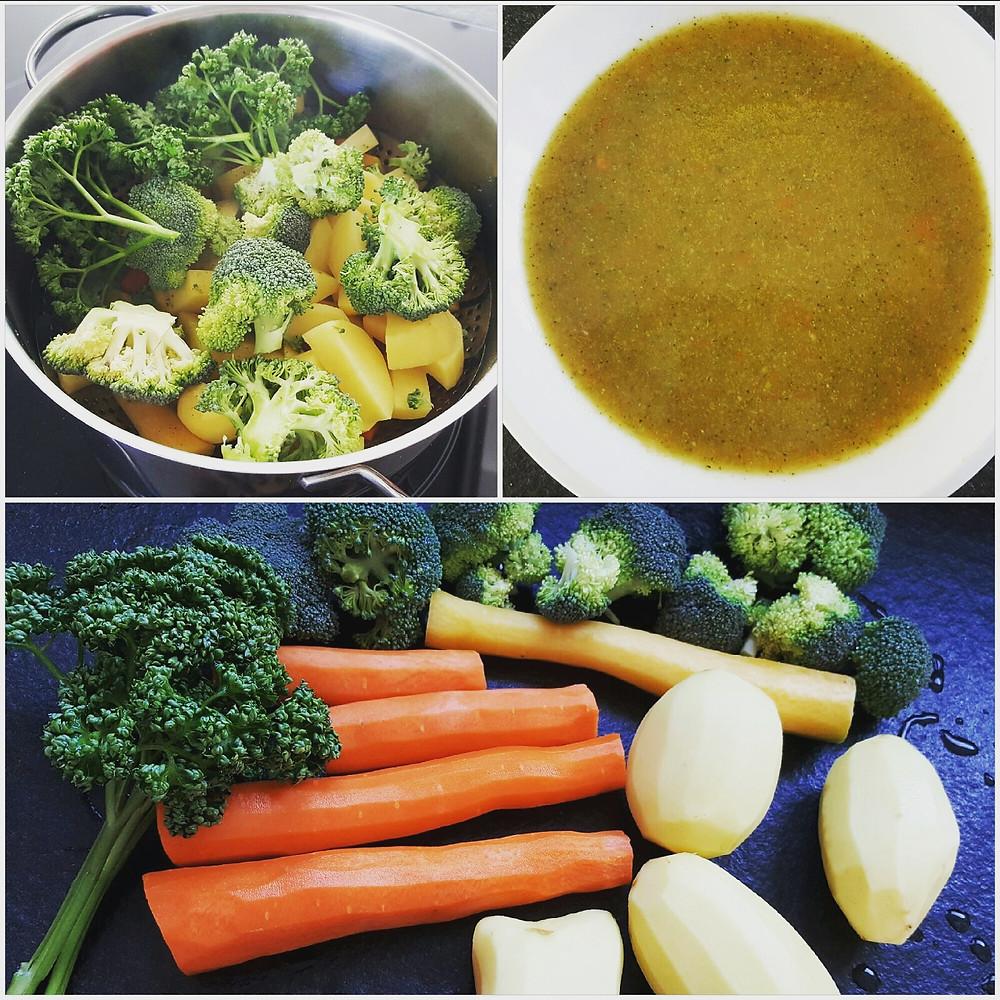 Ernährungsberatung, Ernährungstherapie und Fitnessberatung, Fabienne Kobi, Kartoffel-Gemüsesuppe