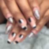Yessenia's matte nails inspired by _nail