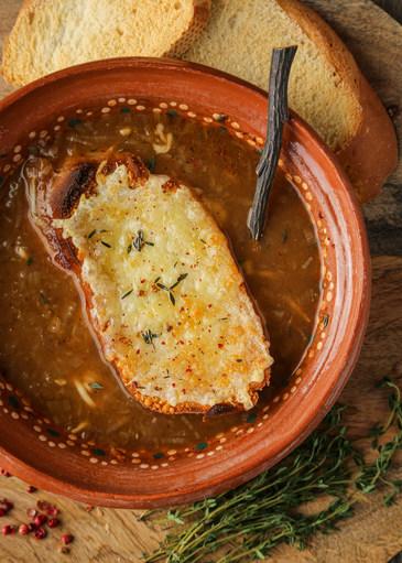 Venison French Onion Soup