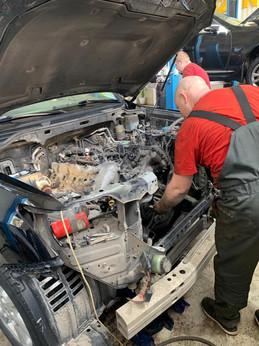 Замена ГРМ Lexus LX570