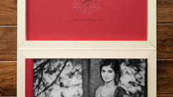 16x12 Custom leather book & box