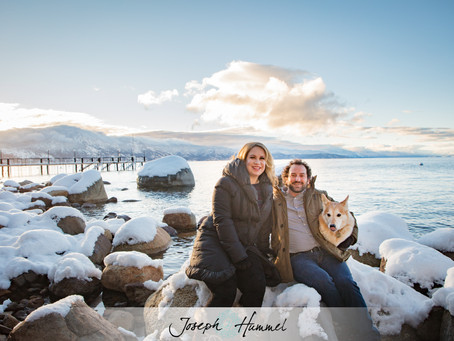 Early Morning Tahoe Engagement Session