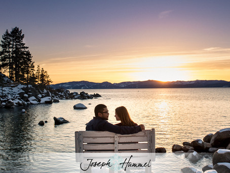 Texas to Tahoe for a Winter Engagement Session