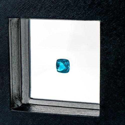 Cushion cut Blue Topaz
