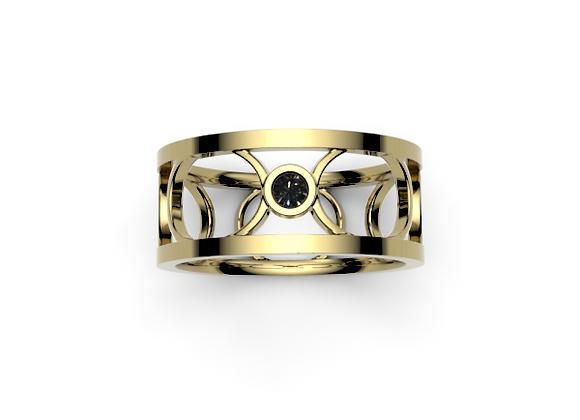 The Chelsea Ring – Black Diamond