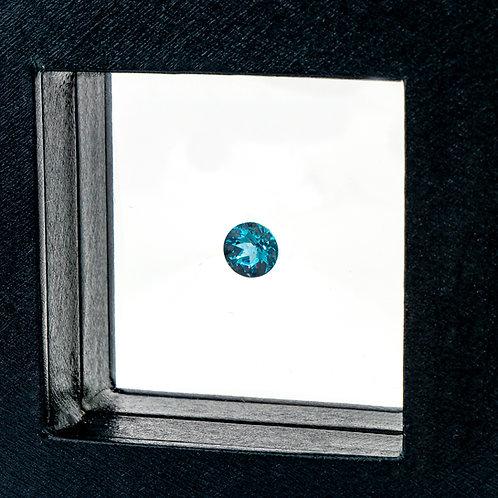 Round cut Blue Topaz