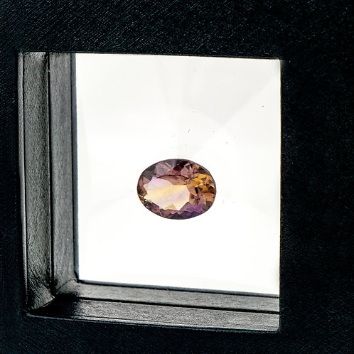 Oval cut Ametrine