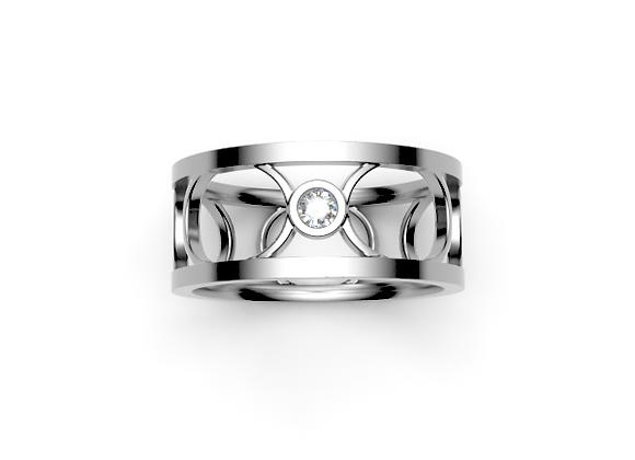 The Chelsea Ring – White Diamond