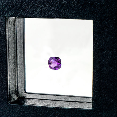Cushion cut Amethyst