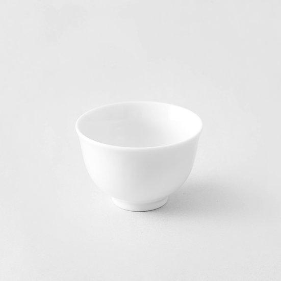 White ceramic cup (China)