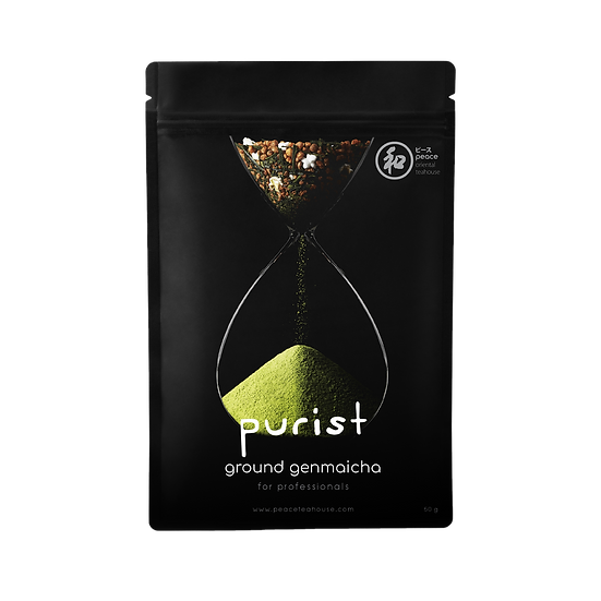 purist genmaicha (ground) (1kg)