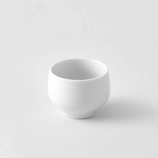 White ceramic cup (Japan)