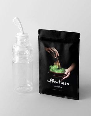 effortless matcha (150g) + workout bottle