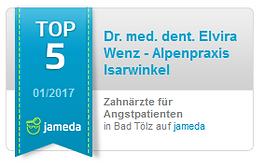 Jameda TOP 5 Zahnärzte für Angstpatienten