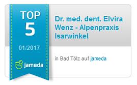 Jameda TOP 5 in Bad Tölz