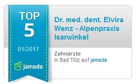 Jameda TOP 5 Zahnärzte in Bad Tölz