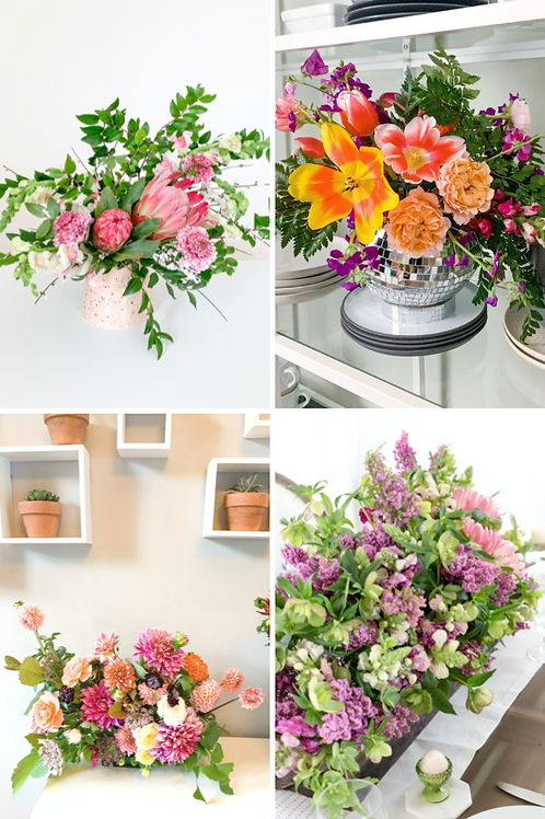 Virtual Floral Design Class