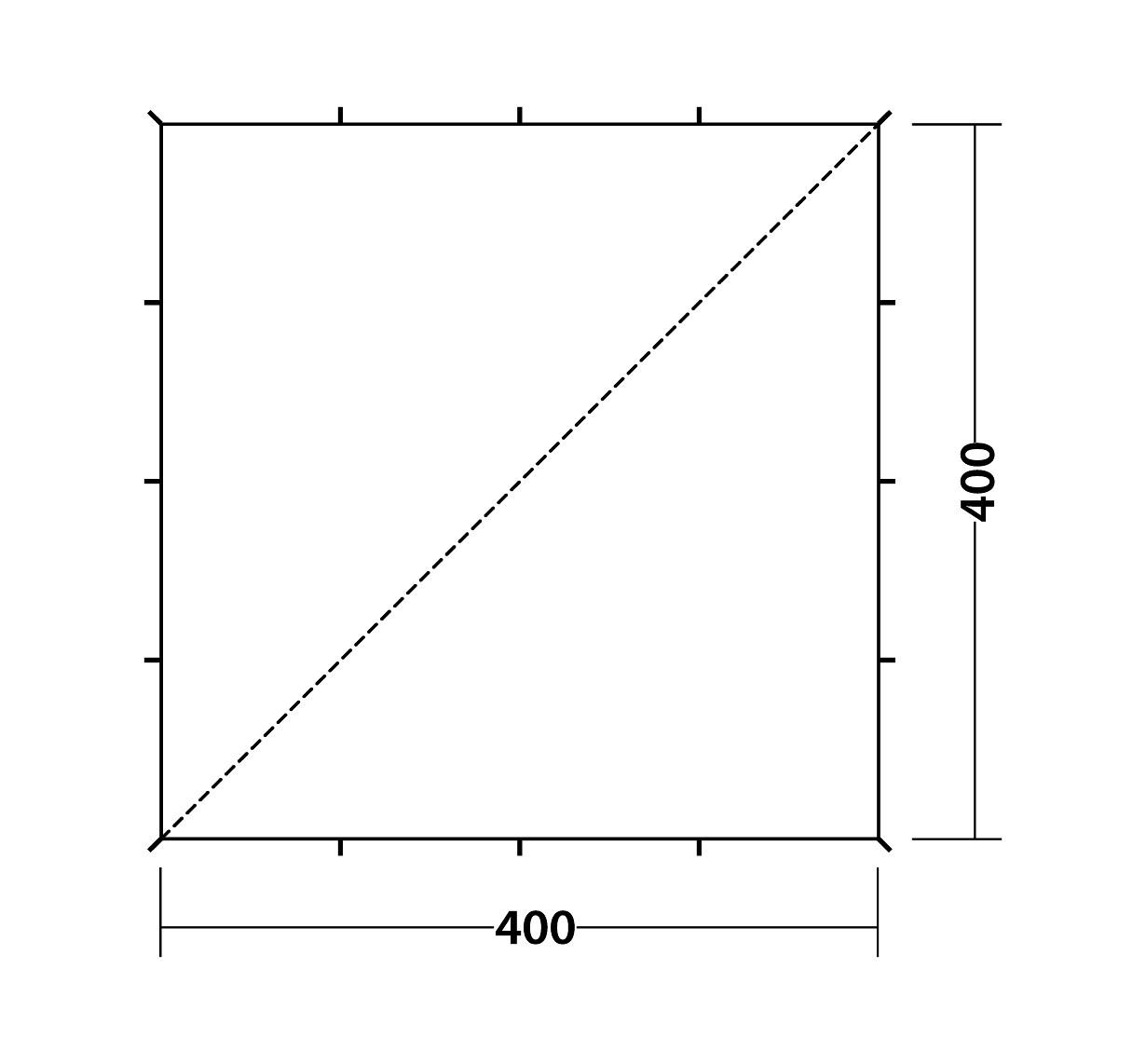 130041_Tarp 4 x 4 m_Drawing Floorplan3
