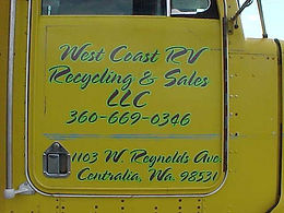 West Coast RV Recycling