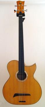 Murat Sezen Custom Fretless Bass