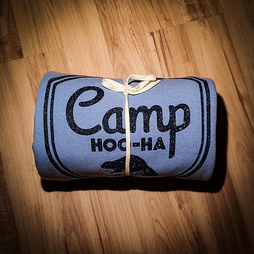 CAMP BLANKET - HEATHER BLUE