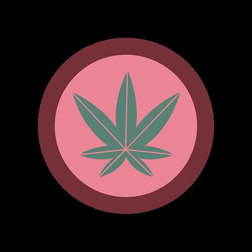 Cannabis Badge