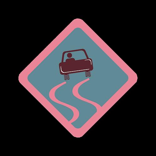 Winter Driving badge