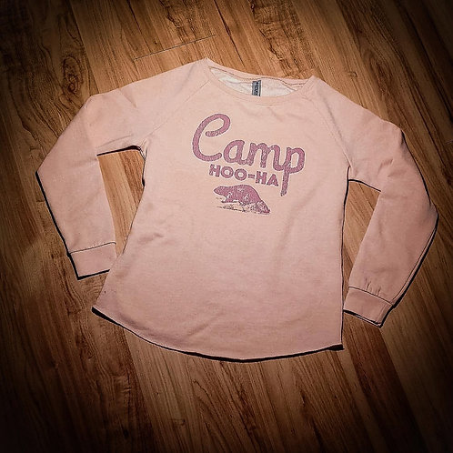 RELAXED CAMPER CREW - BLUSH