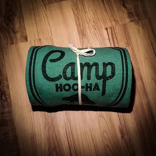 CAMP BLANKET - HEATHER GREEN