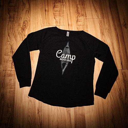 RELAXED CAMPER CREW - BLACK