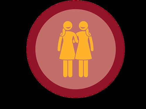 Friendship badge