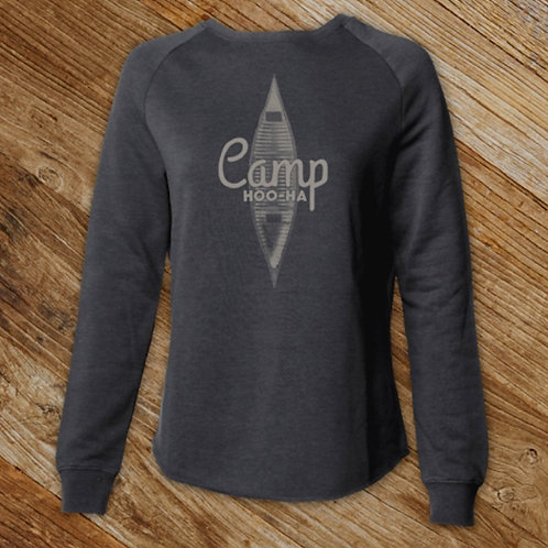 RELAXED CAMPER CREW - GREY