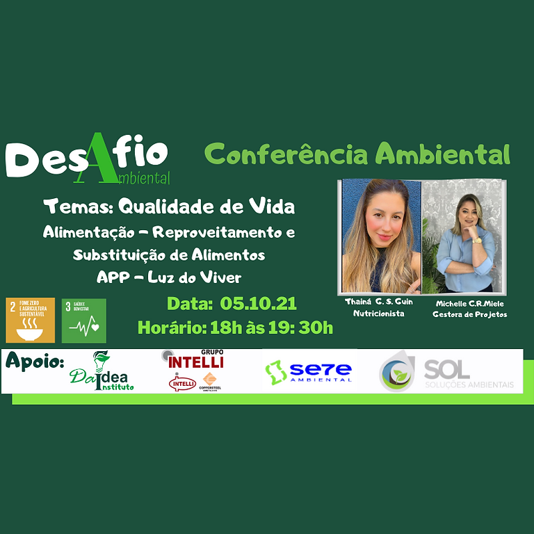 2ª Conferência Ambiental - 4 Qualidade de Vida